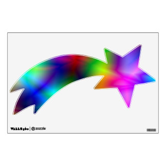 Shooting Star Wall Decal Wall Stickers