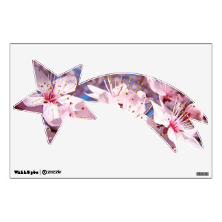 Shooting Star wall decals Pink Tree Blossoms