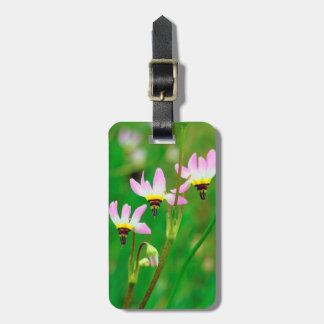 Shooting Star Wildflowers in Mission Trails Park Travel Bag Tag