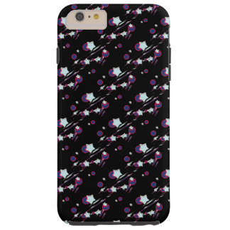 Shooting Stars and Comets Black Cell Phone Cover