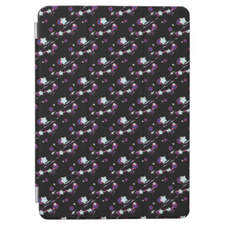Shooting Stars and Comets Black Tablet Cover