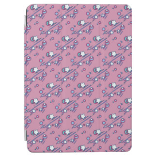 Shooting Stars and Comets Pastel Pink Tablet Cover