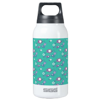 Shooting Stars and Comets Turquoise Bottle