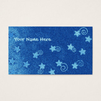 Shooting Stars Business Card