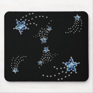 shooting stars mouse pad