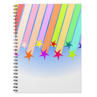 shooting stars note book