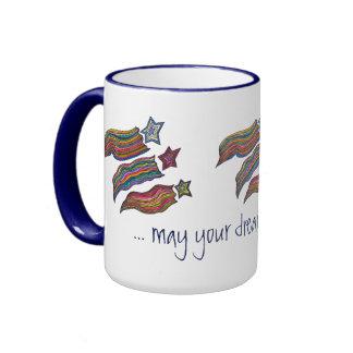 Shooting Stars Ringer Mug