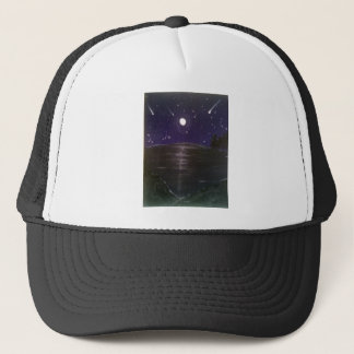 Shooting stars trucker hat