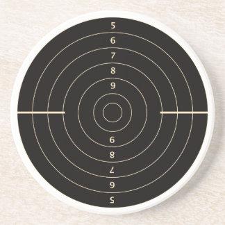 Shooting Target Sandstone Coaster