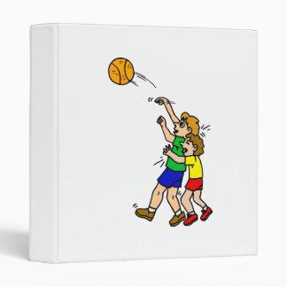 Shooting the basketball binder