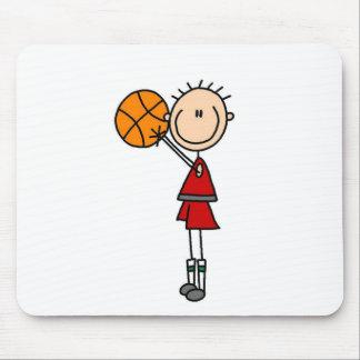 Shooting The Basketball Mousepad