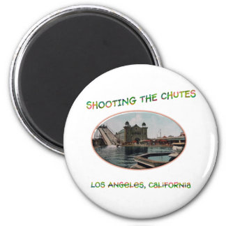 Shooting The Chutes 2 Inch Round Magnet
