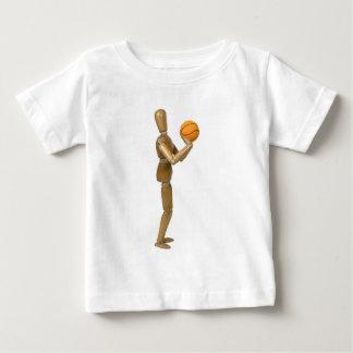ShootingBasketball112709 copy Baby T-Shirt