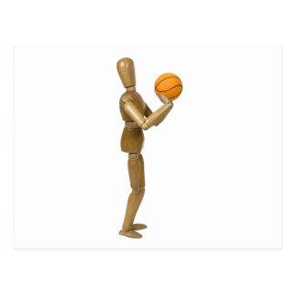 ShootingBasketball112709 copy Postcard