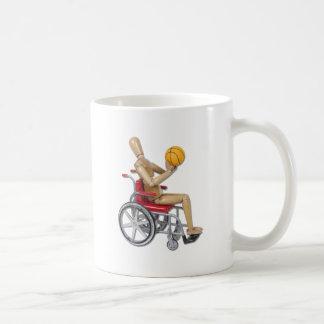 ShootingBasketballWheelchair Coffee Mug