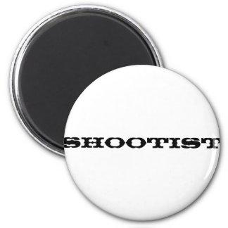 Shootist Imán Redondo 5 Cm