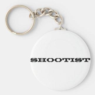 Shootist Llavero Redondo Tipo Pin