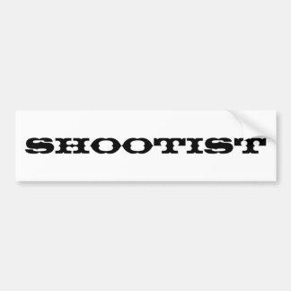 Shootist Pegatina Para Auto