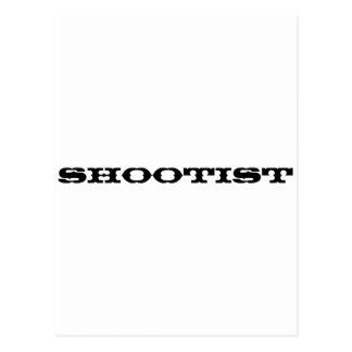 Shootist Postcard