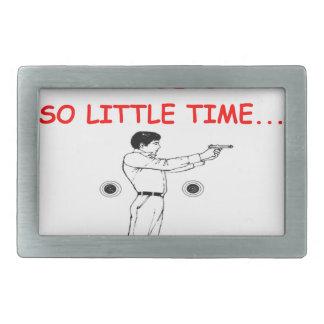 shootng de la blanco hebilla cinturón rectangular
