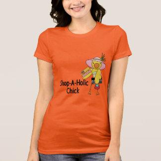 Shop-A-Holic Chick T-Shirt