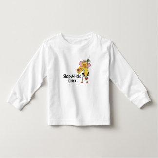Shop-A-Holic Chick Toddler T-shirt