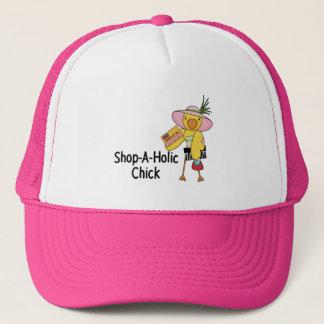 Shop-A-Holic Chick Trucker Hat