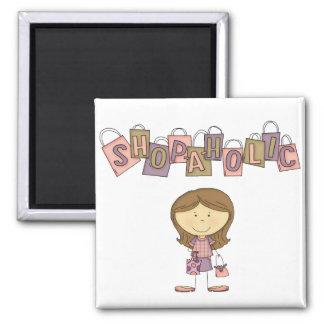Shop-A-Holic Magnet