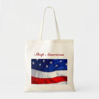 Shop American Tote Canvas Bag