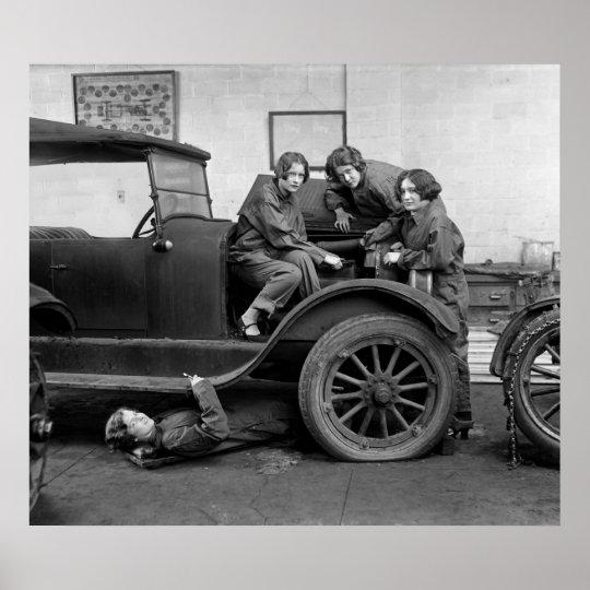 Shop Class: 1927 Poster