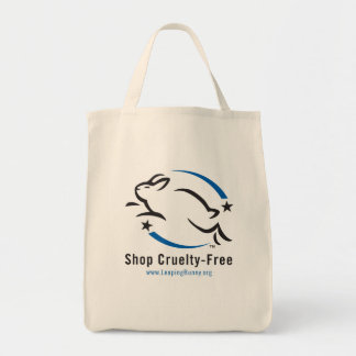 Shop Cruelty-Free Grocery Tote Bag