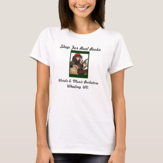 shop for real books women's tee