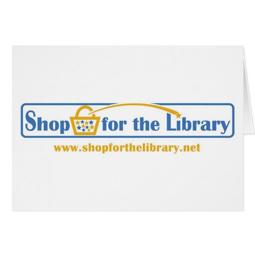 Shop for the Library card