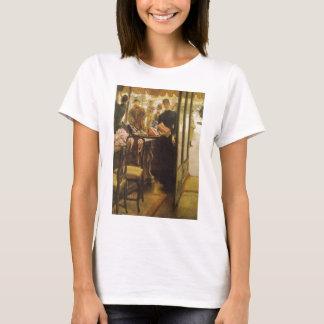 Shop Girl by Tissot, Vintage Victorian Fine Art T-Shirt