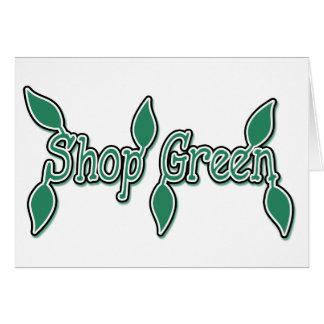 Shop Green Card
