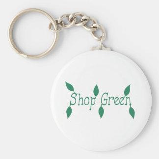Shop Green Keychain