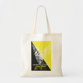 Shop is style with this Voluntaryist Tote! Tote Bag