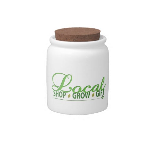 Shop Local, Grow Local, Gift Local Candy Jar