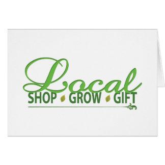 Shop Local, Grow Local, Gift Local Card