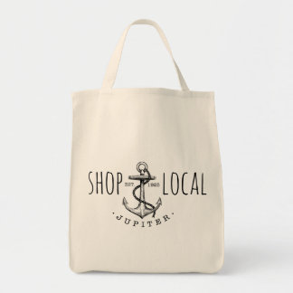 Shop Local Jupiter Grocery Tote