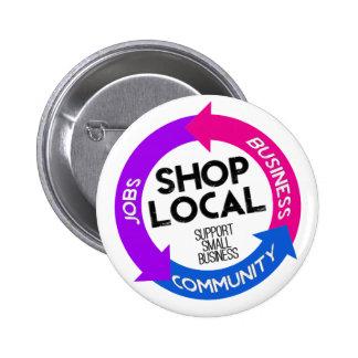 Shop Local Pinback Button