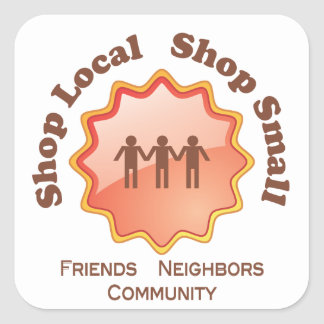 Shop Local, Shop Small Stickers