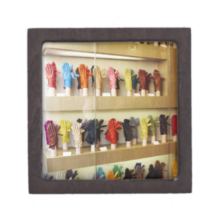 Shop of gloves keepsake box