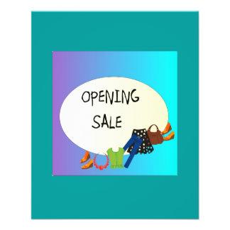 Shop Opening Sale> Flyer