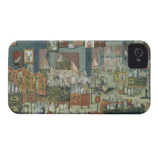 Shop Selling Chinese Goods, mid-18th century (cera iPhone 4 Case-Mate Case