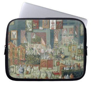 Shop Selling Chinese Goods, mid-18th century (cera Laptop Sleeve