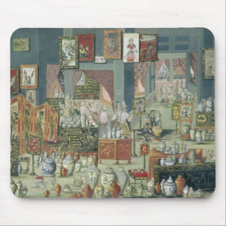 Shop Selling Chinese Goods, mid-18th century (cera Mouse Pad