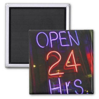 Shop Sign 2 Inch Square Magnet
