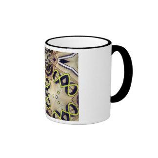 Shop Sign Mosaic Ringer Mug
