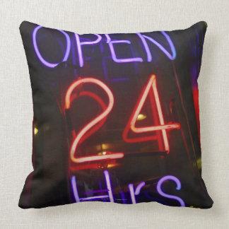 Shop Sign Throw Pillow